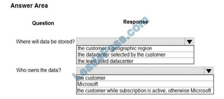 lead4pass mb-901 exam questions q10